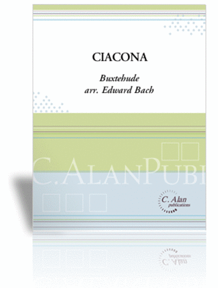 Ciacona (score & parts)