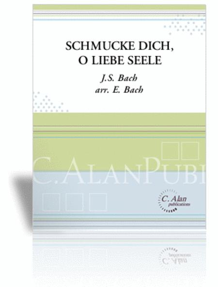 Schmucke Dich, O Liebe Seele (score & parts)