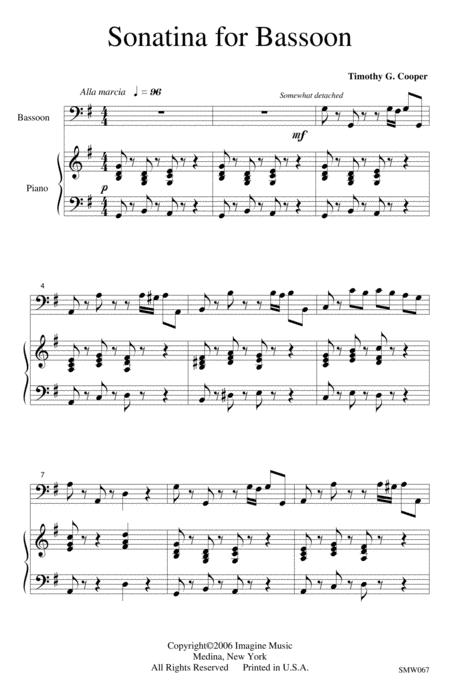 Sonatina for Bassoon
