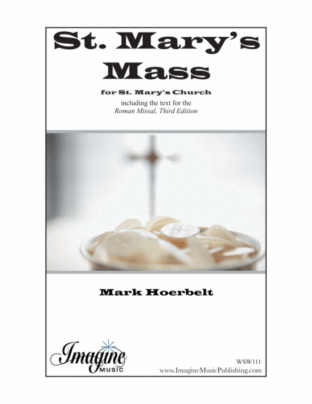 St. Mary's Mass (Choral Score)