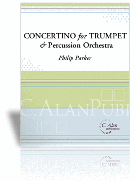 Concertino for Bb Trumpet & Percussion Orchestra (score only)