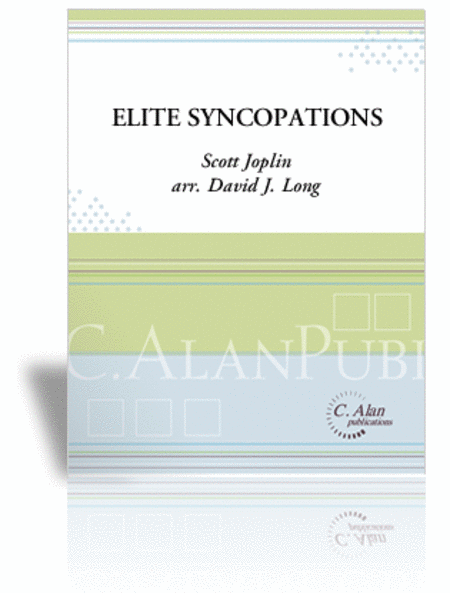 Elite Syncopations (percussion ensemble score only)