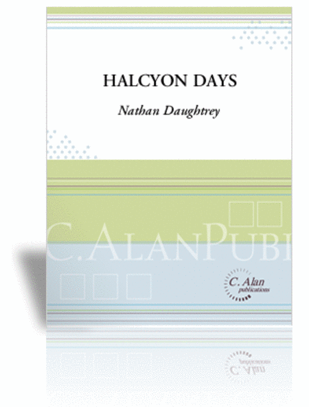 Halcyon Days (score & parts)
