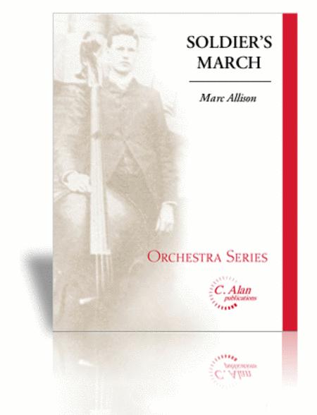 Soldier's March (score & parts)