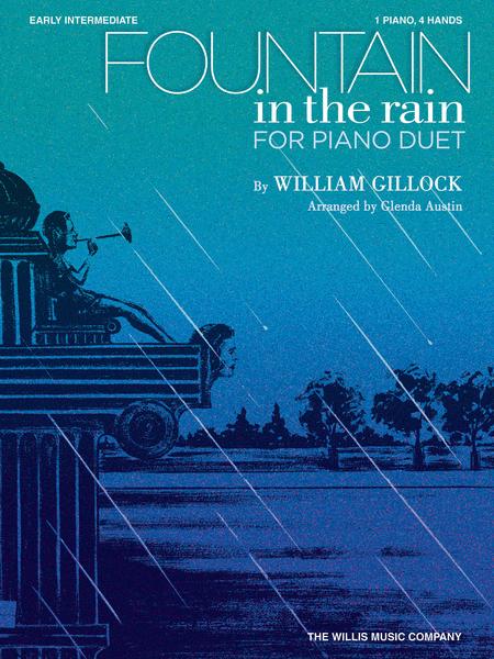 Fountain in the Rain