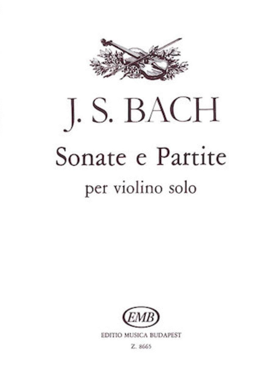 Sonatas And Partitas Violin Bwv1001-1006
