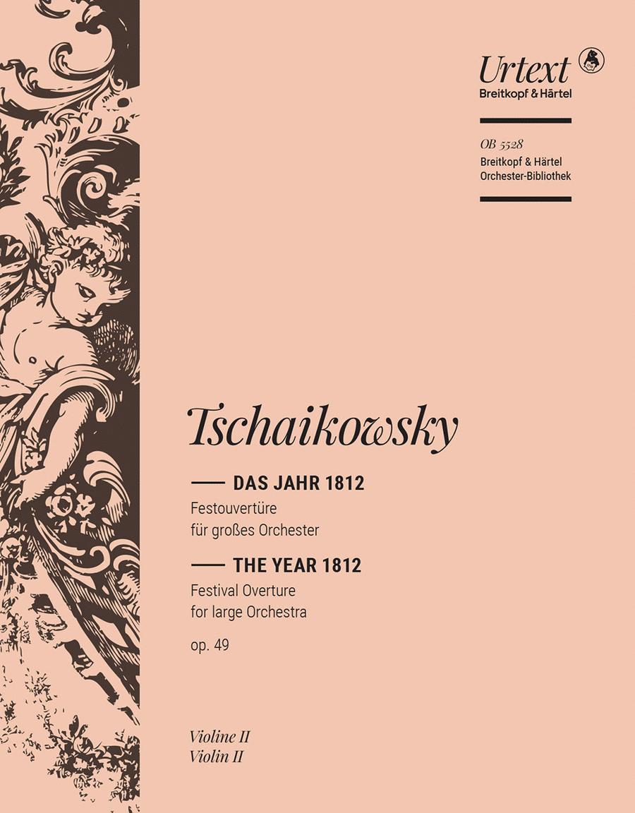 Das Jahr 1812 Festouverture op. 49