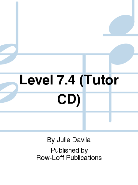 Level 7.4 (Tutor CD)