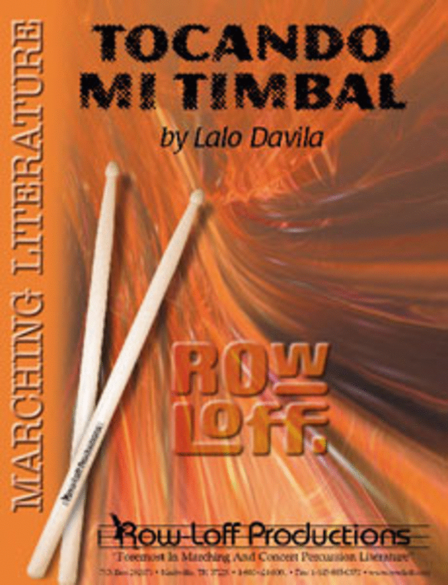 Tocando Mi Timbal (with Tutor CD)