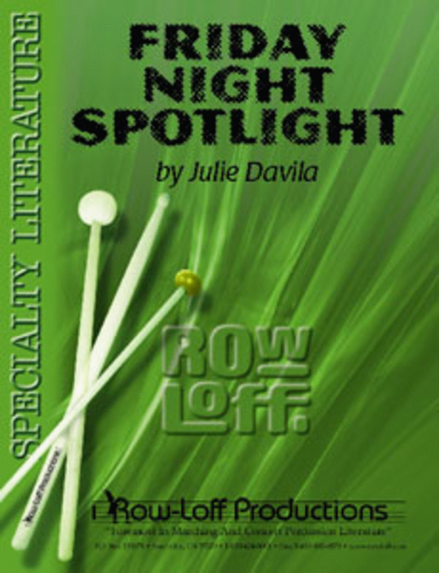 Friday Night Spotlight w/CD