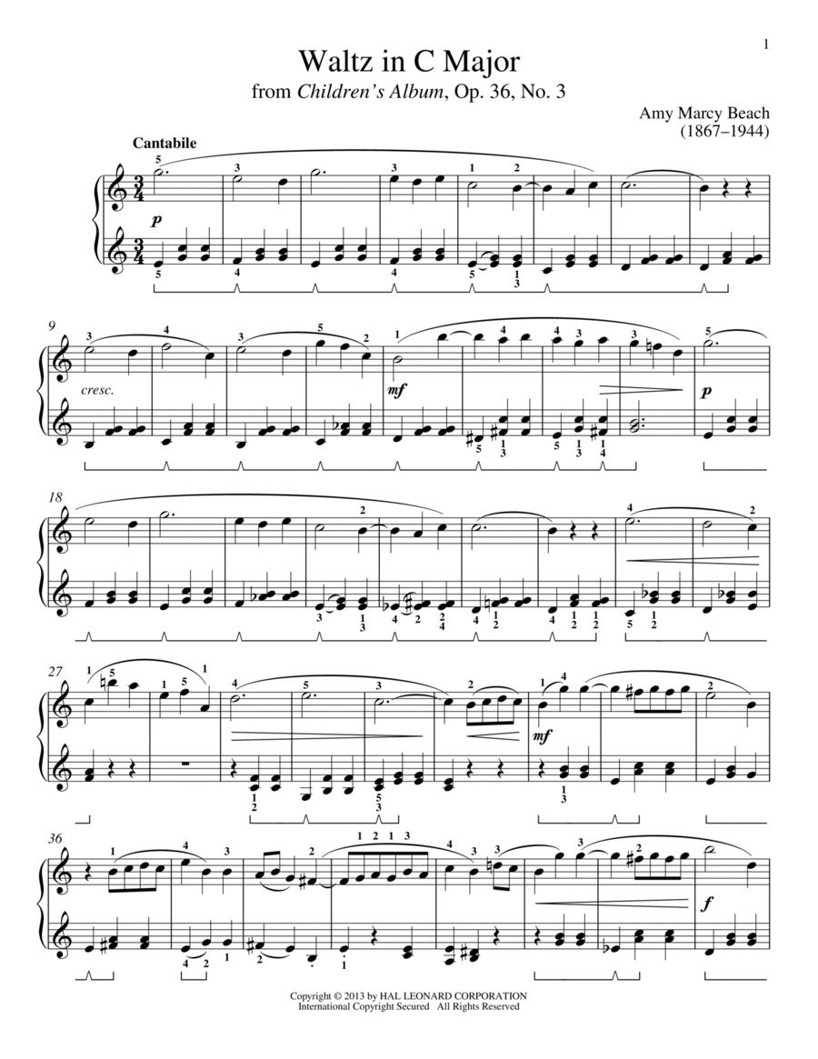 Waltz In C Major