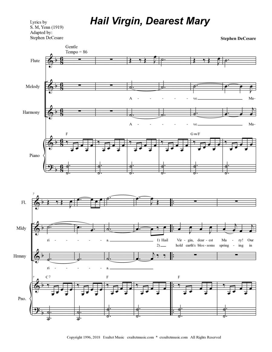 Hail Virgin, Dearest Mary