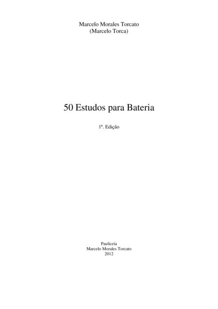 50 Estudos para Bateria