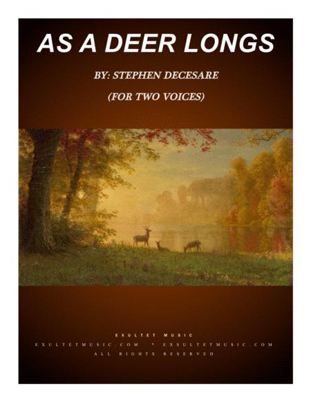 As A Deer Longs