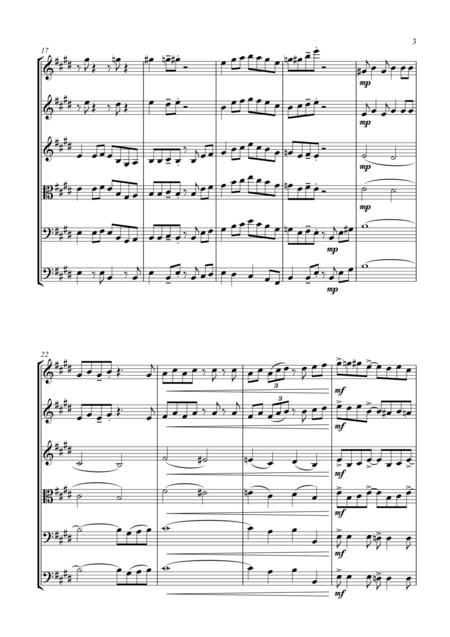 Turkey in the Straw - a Jazz Arrangement - for String Orchestra