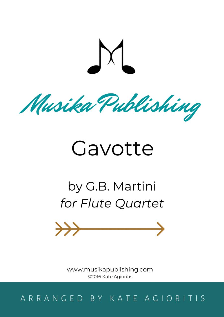 Gavotte - for Flute Quartet