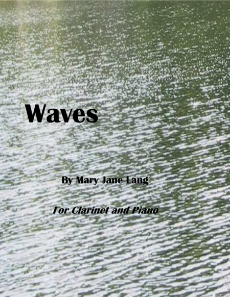 Waves for Clarinet and Piano