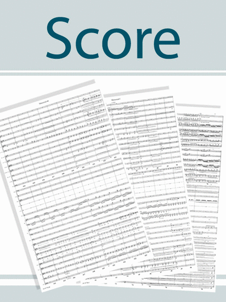 What Sweeter Music - Full Orchestra Score