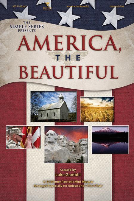 America, The Beautiful (Choral Book)