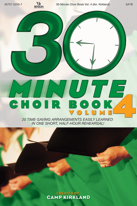 30-Minute Choir Book, Volume 4 (Listening CD)