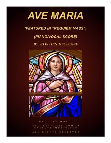 Ave Maria (for Soprano solo and women's choir)