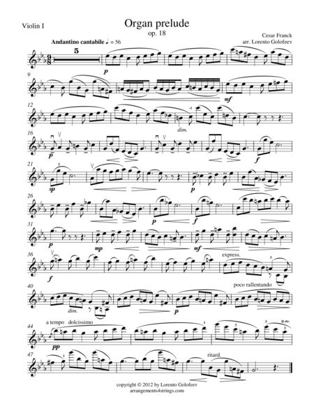 Organ prelude