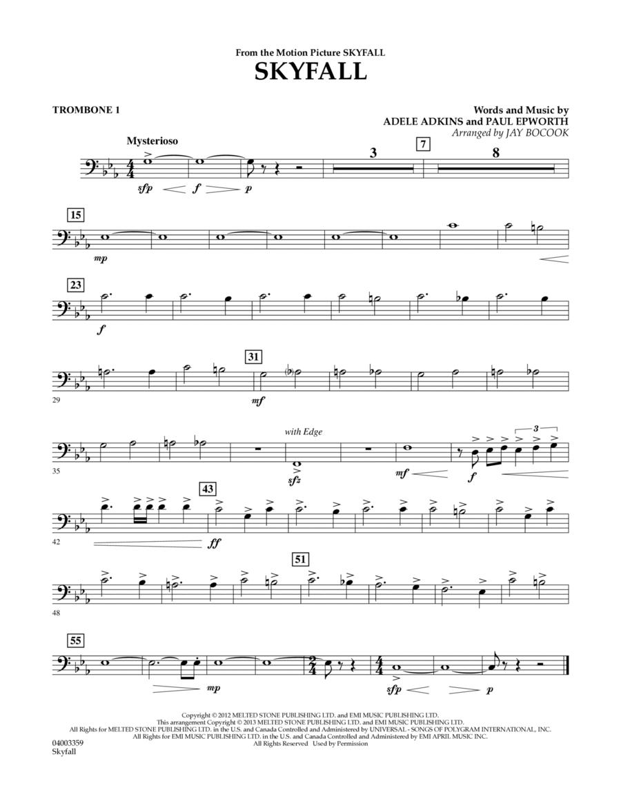 Skyfall - Trombone 1