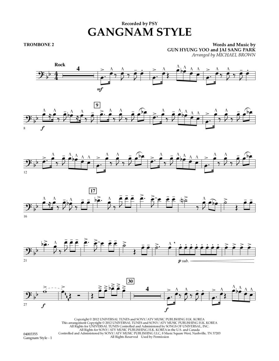 Gangnam Style - Trombone 2