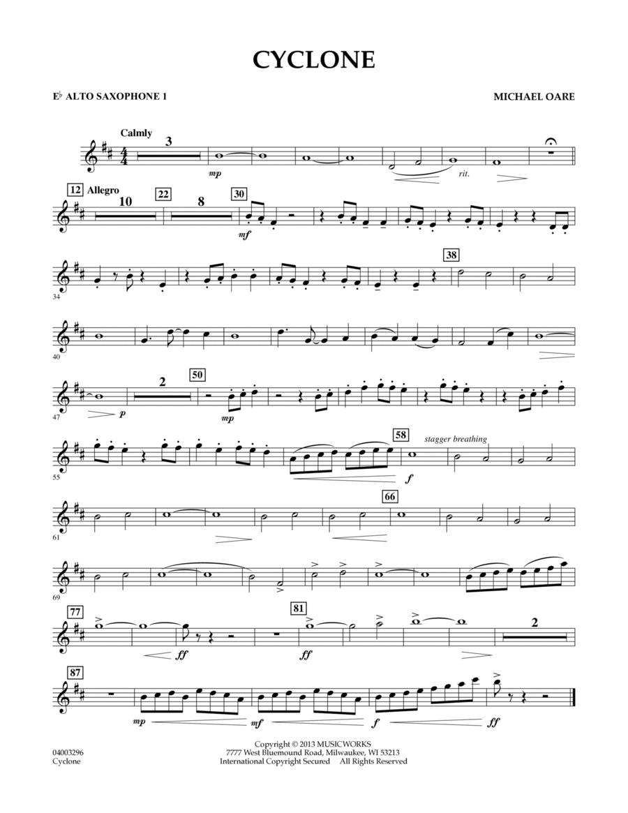 Cyclone - Eb Alto Saxophone 1