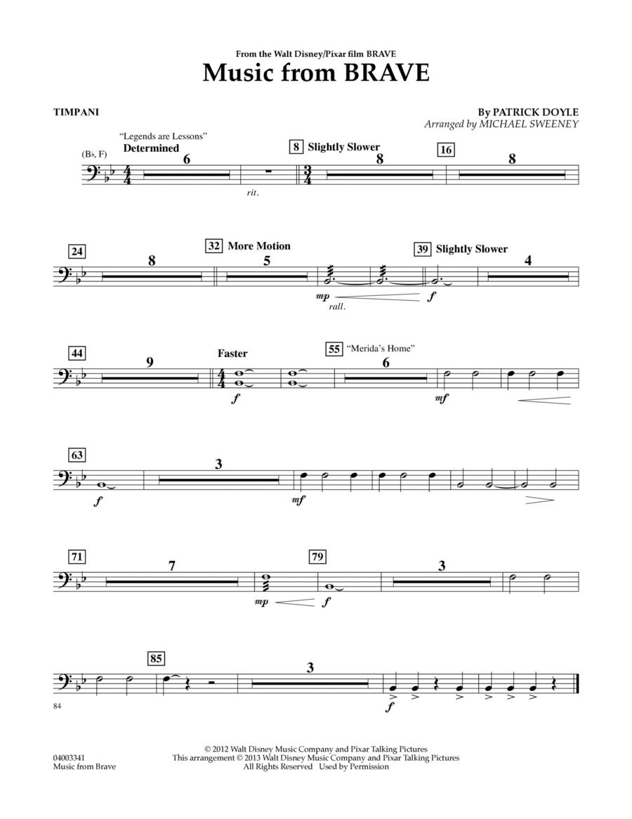 Music From Brave - Timpani