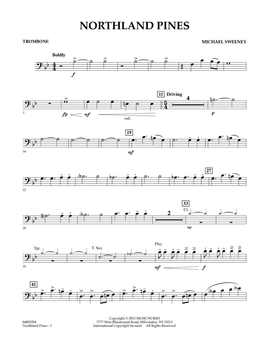 Northland Pines - Trombone