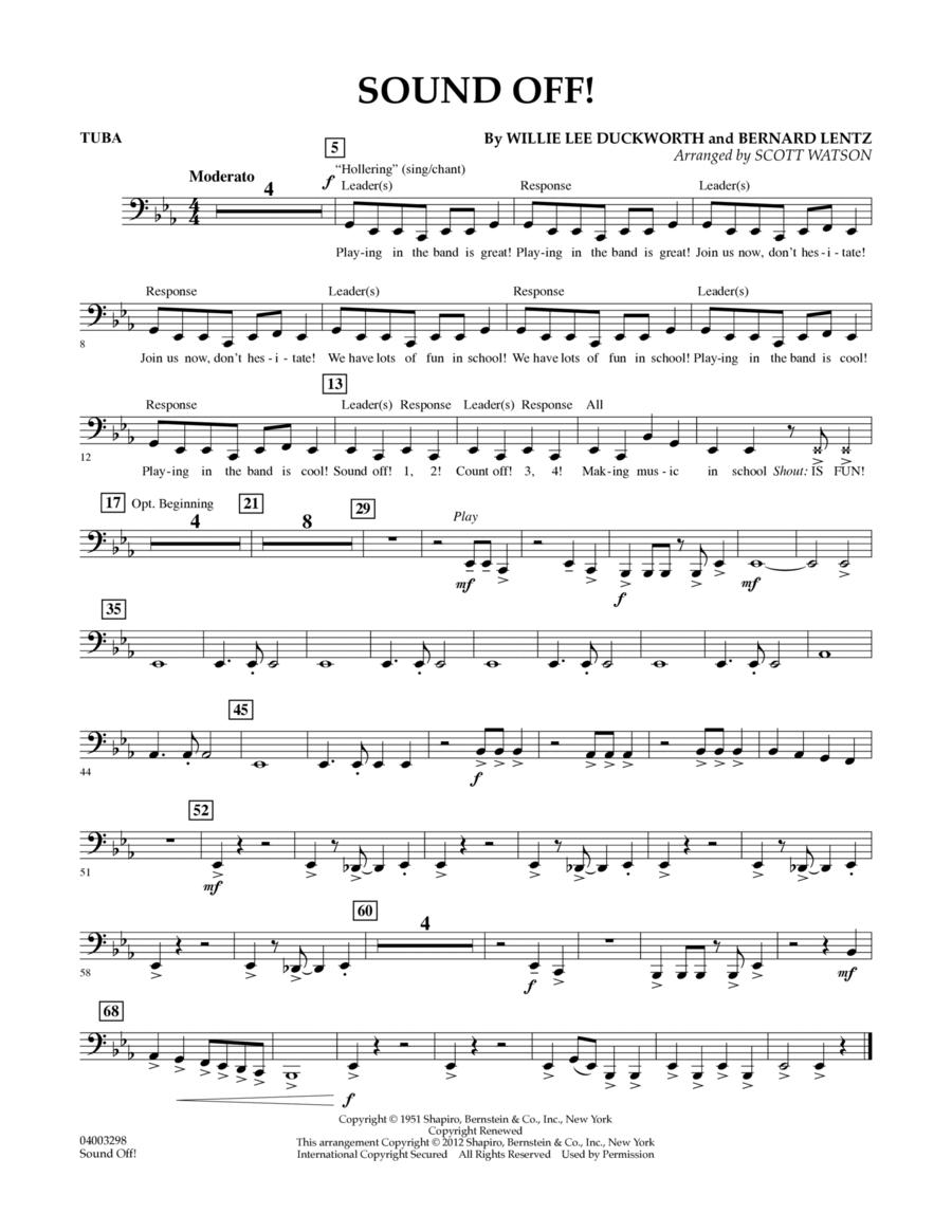 Sound Off - Tuba