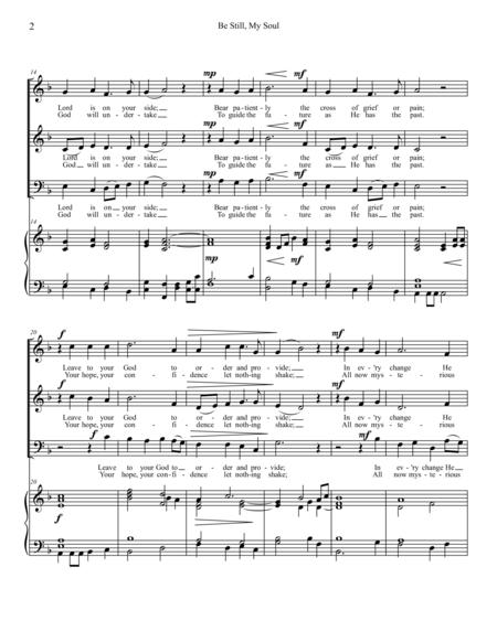 Be Still, My Soul (SAB and Piano)