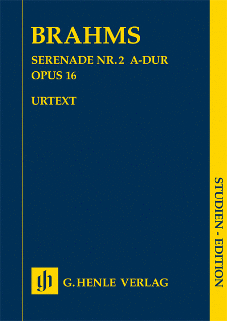 Serenade No. 2 in A Major, Op. 16