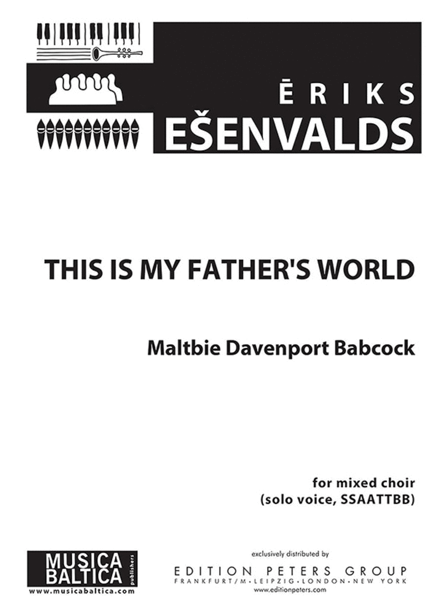 This Is My Father's World (2011)