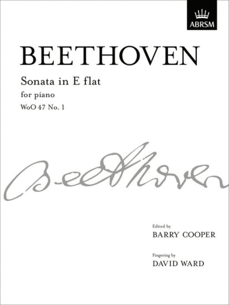 Sonata in Eb for Piano WoO 47 No. 1