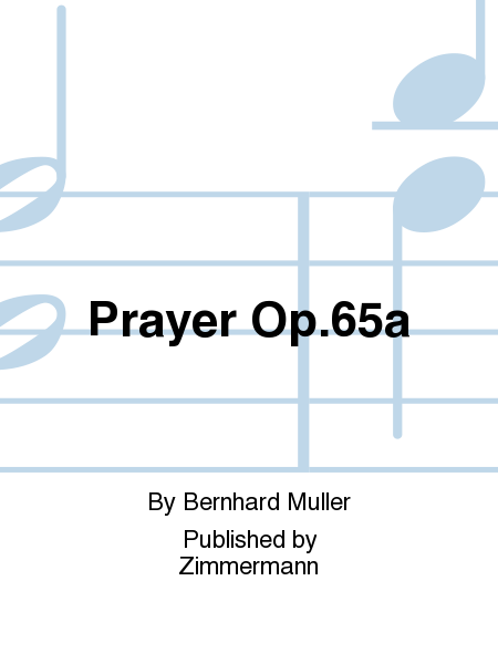 Prayer Op.65a