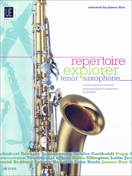 Repetoire Explorer: Tenor Saxophone