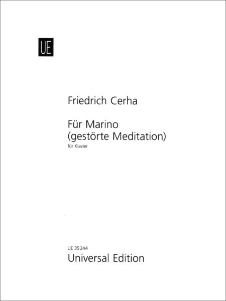 Für Marino (Gestörte Meditation)