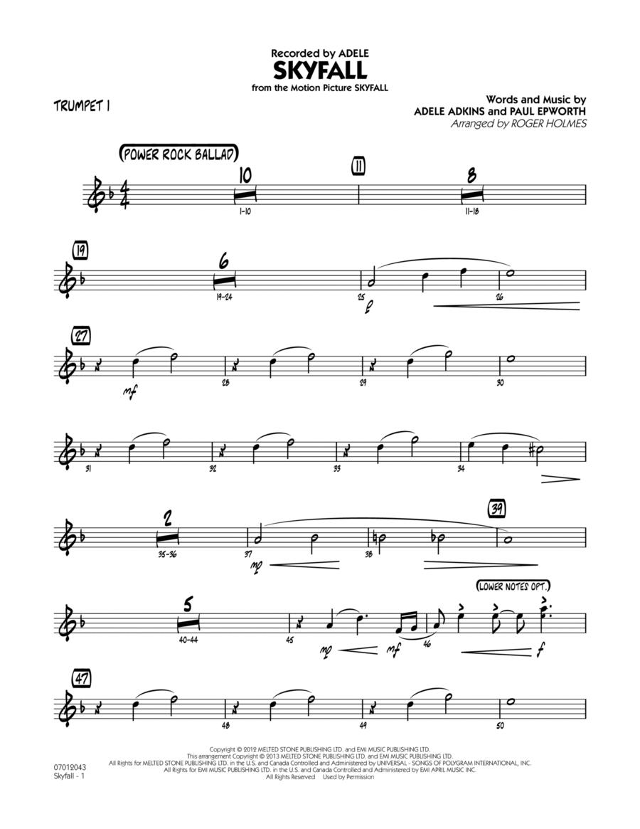 Skyfall - Trumpet 1