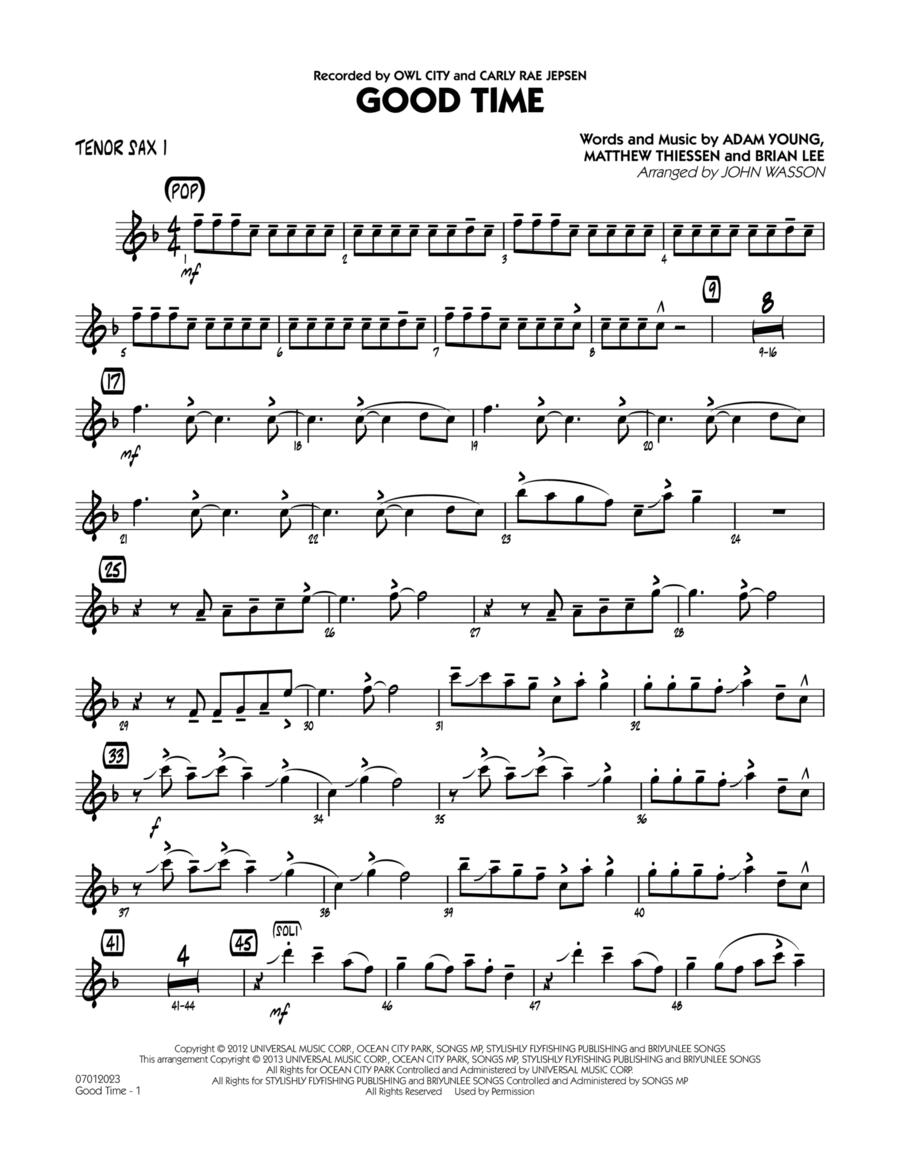 Good Time - Tenor Sax 1