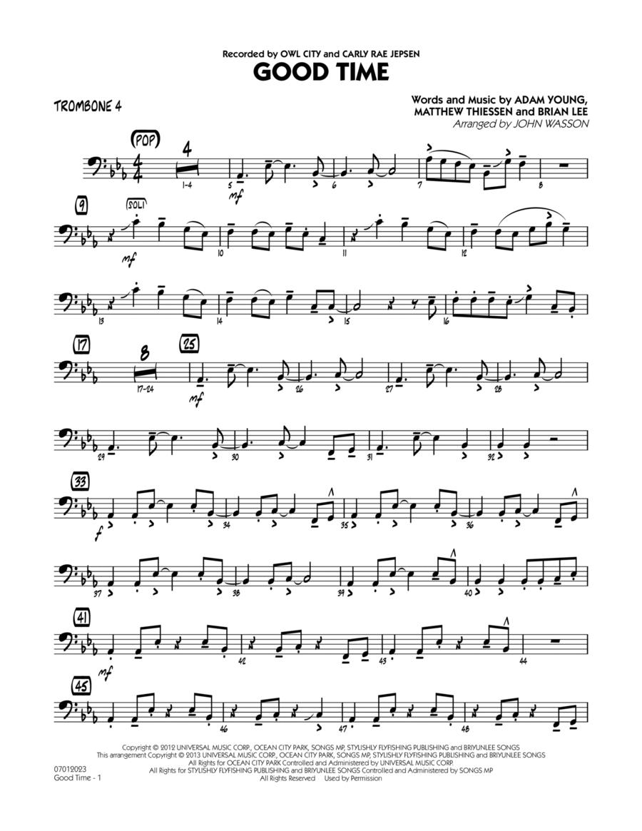Good Time - Trombone 4