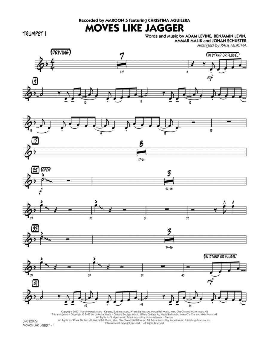 Moves Like Jagger - Trumpet 1