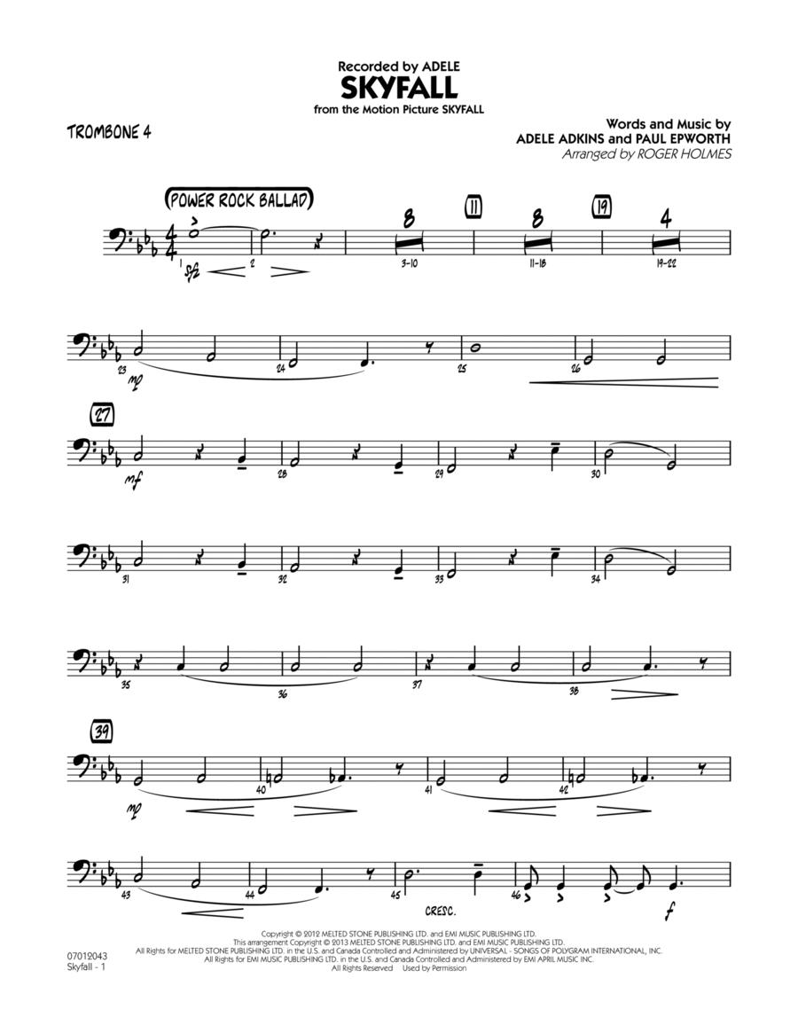 Skyfall - Trombone 4