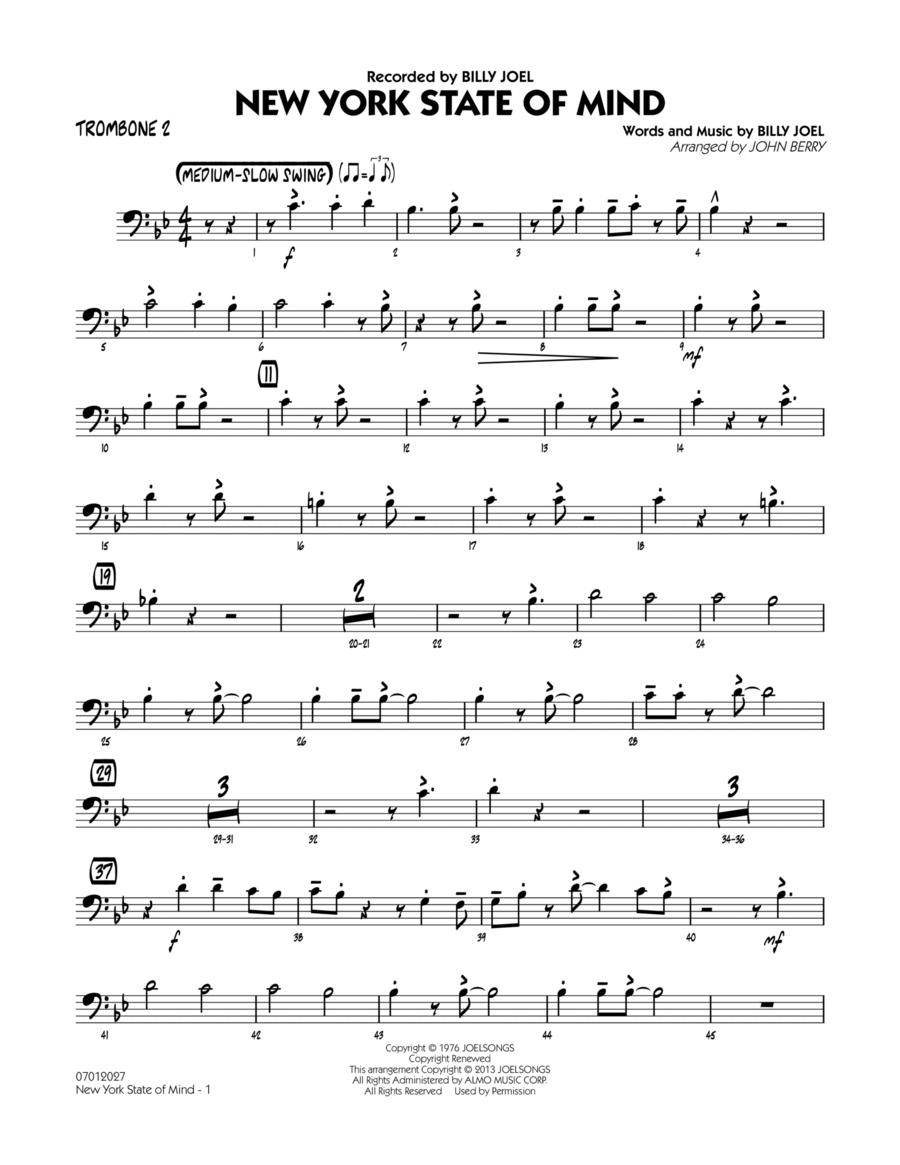 New York State Of Mind - Trombone 2