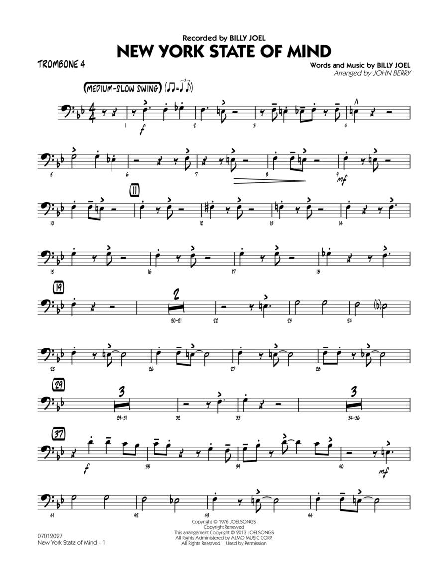 New York State Of Mind - Trombone 4