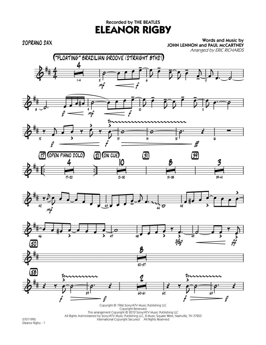 Eleanor Rigby - Soprano Sax