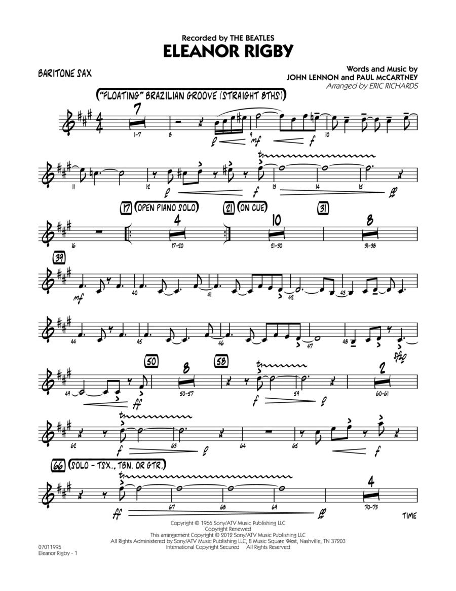Eleanor Rigby - Baritone Sax
