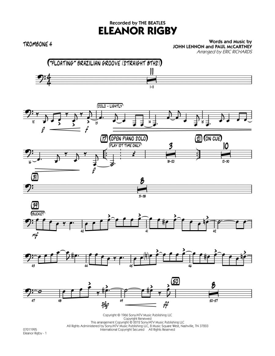 Eleanor Rigby - Trombone 4