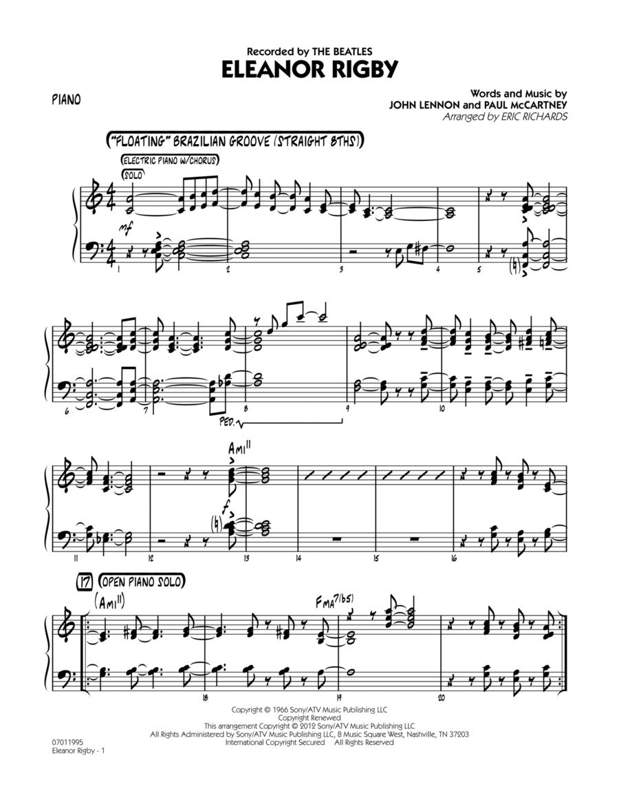 Eleanor Rigby - Piano
